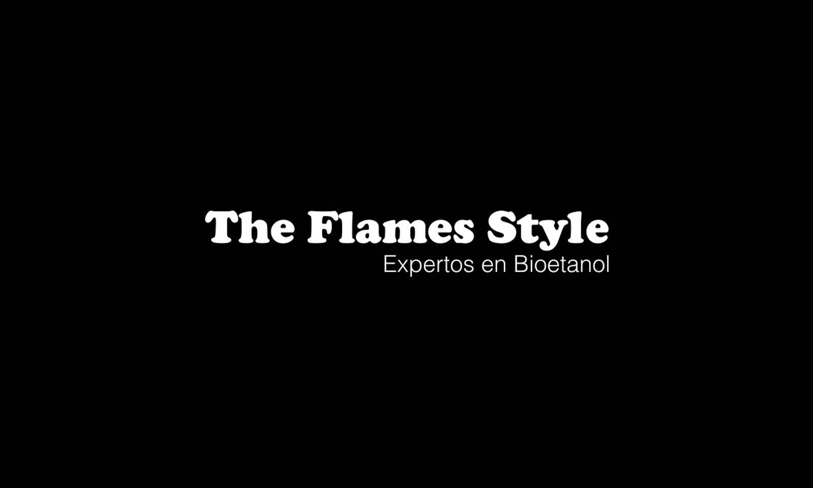 Logo negro The flames style