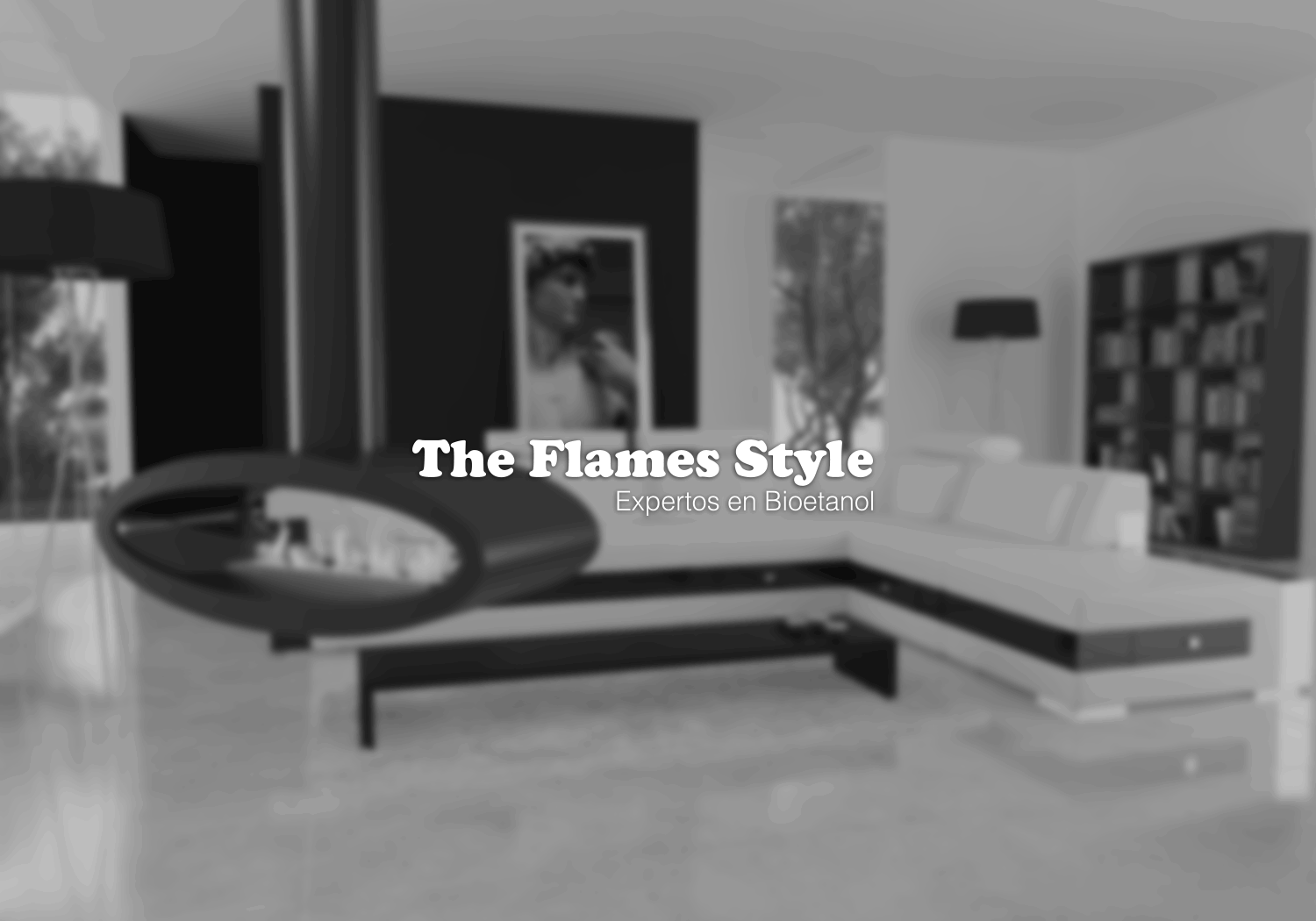 logo the flames style